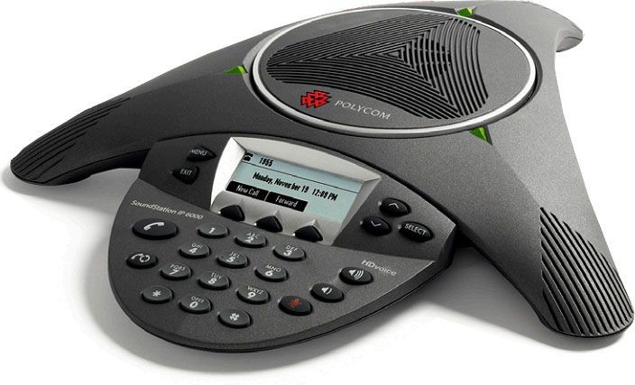 Polycom SoundStation IP6000 Conference Phone (With PSU) 2200-15660-01 New