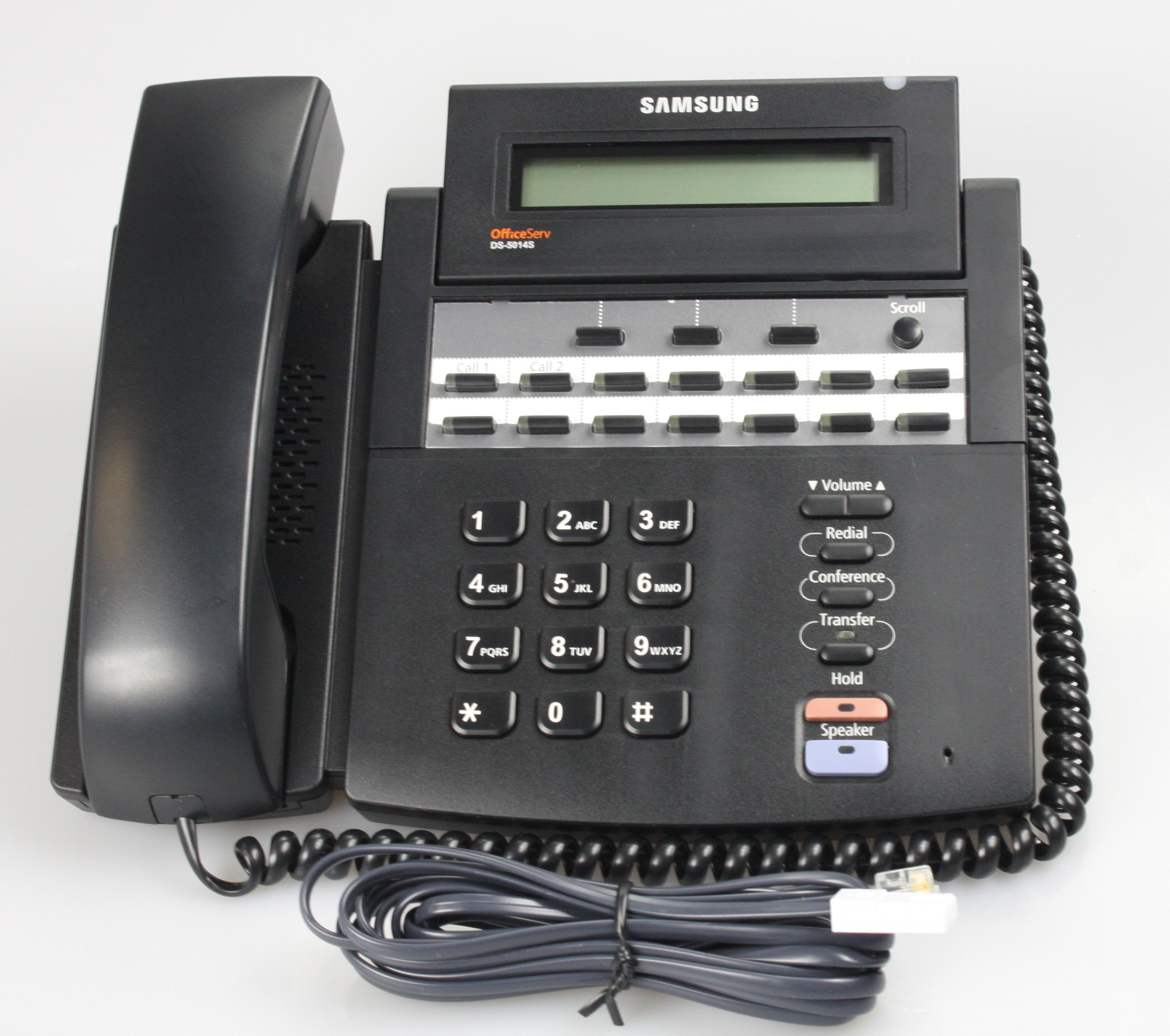 Samsung DS-5014S 14 Button Display Telephone Black