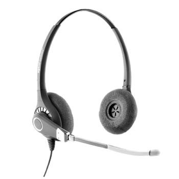 Agent 600 Dual Ear Voice Tube Top Half Headset