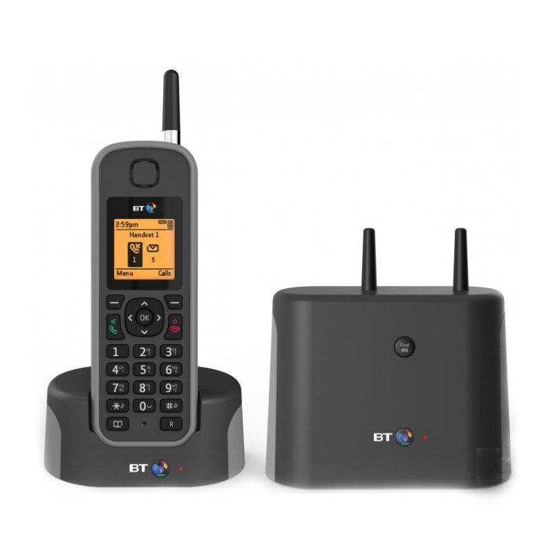 BT Elements 1K Cordless Phone Front View