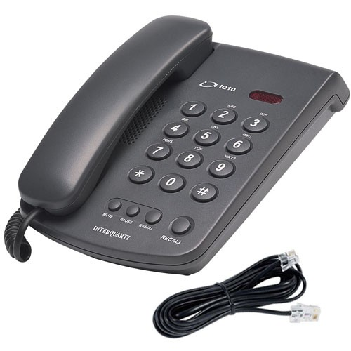 Interquartz IQ-10 9310 Phone with Line Cord