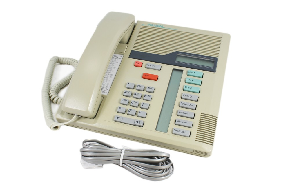 Nortel Meridian M7208 Telephone In Beige