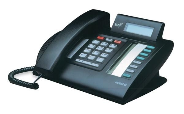 Nortel Meridian M7208N Telephone In Black