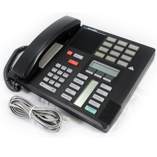 Meridian Norstar M7310 Telephone In Black with line cord