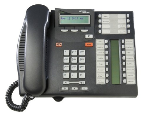 Nortel T7316E Charcoal Telephone - NT8B27