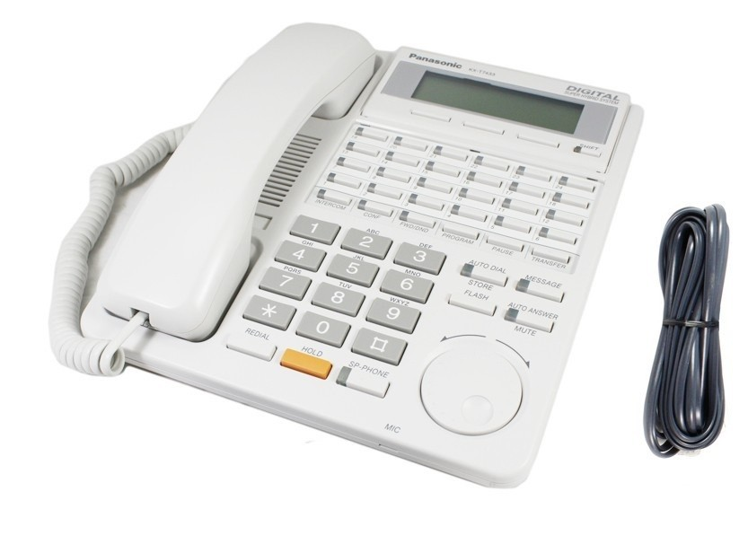 Panasonic KX-T7433 Telephone White