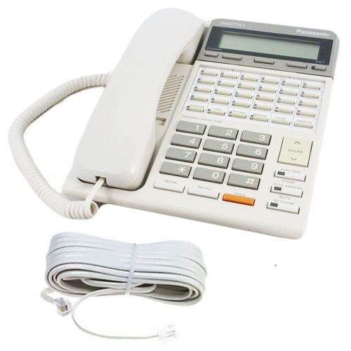 Panasonic KX-T7230E Telephone in White