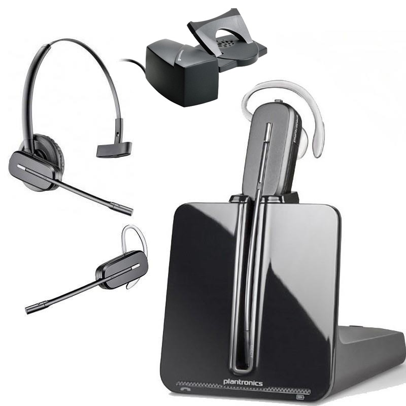 Plantronics CS540 Wireless Headset with HL10 Lifter