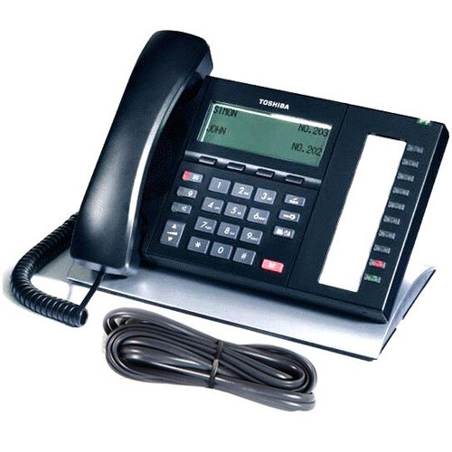 Toshiba DP5022F-SD Strata CIX Telephone with line cord