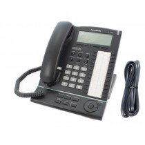 Panasonic KX-T7636 Large Executive Backlit Display Telephone Black