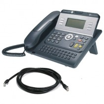 Alcatel 4028 IP Telephone Handset with patch lead