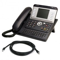 Alcatel 4038 IP Phone with patch lead