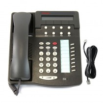 Avaya 6408D+ Telephone with Line Cord