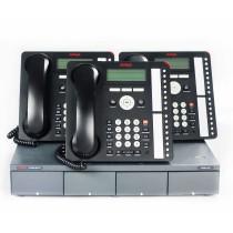 Three Avaya 1616 IP Telephones