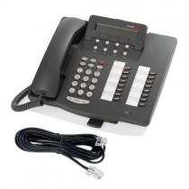 Avaya 6416D+M Telephone with line cord