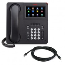 Avaya 9641G IP Telephone with patch lead