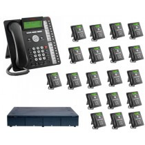 Avaya Telephone System 8 ISDN2 Channels and 20 phones System Only