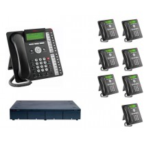 Avaya Telephone System Supporting 4 SIP Trunks and 8 phones System Only