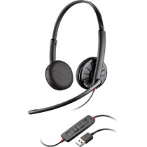 Blackwire C325-M Plantronics Foldable Stereo USB Headset With Carry Case 200263-01 New