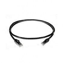 Patch Lead 2.0m Black CAT5
