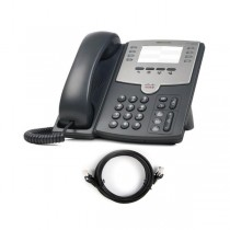 Cisco SPA501G IP Phone with Patch Lead