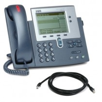 Cisco 7940G Unified IP Telephone with SCCP Firmware with patch lead
