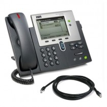 Cisco 7942 IP Telephone with SCCP Firmware with patch lead