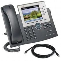 Cisco 7965g Unified IP Phone with patch lead