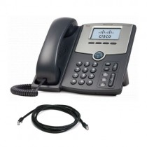 Cisco SPA512G IP Phone with Patch Lead