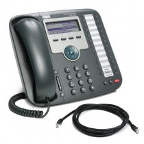 Cisco Unified IP 7931G Telephone with patch lead