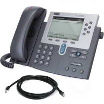 Cisco Unified IP 7961G Telephone with patch lead