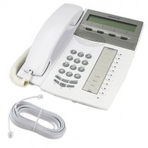 Ericsson Dialog 4223 Telephone in Light Grey with line cord