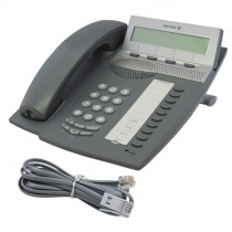 Ericsson Dialog 4223 Telephone in Dark Grey with line cord
