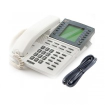 LG KD-33LD Telephone in White with Line Cord