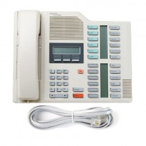 Meridian Norstar M7324 Telephone In Grey with line cord