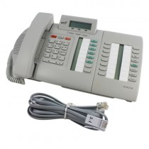 Meridian Norstar M7324N Telephone In Grey  with line cord