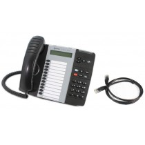 Mitel IP 5312 IP Telephone in Black with Patch lead
