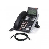 NEC ITL-24D-1A Phone with Patch Lead