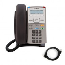 Nortel 1110 IP Telephone with patch lead