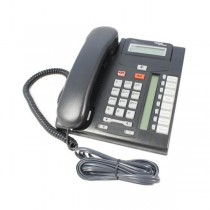 Nortel T7208 Telephone in Charcoal - NT8B26AABL