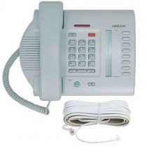 Nortel Meridian M3110 Grey Telephone with line cord
