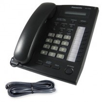 Panasonic KX-T7665 Telephone in Black with line cord