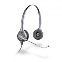 Plantronics HW361/A Binaural Supraplus Corded Headset Silver New