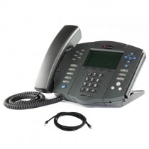 Polycom SoundPoint IP 601 Business Phone with patch lead