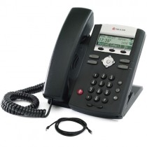 Polycom IP330 Soundpoint Telephone with patch lead