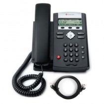 Polycom Soundpoint 321 Phone with Patch Lead