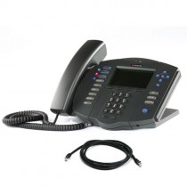 Polycom IP500 IP Phone Handset in Black