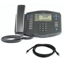Polycom SoundPoint IP 501 Business Phone with patch lead