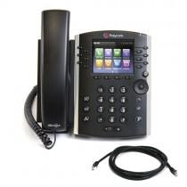 Polycom VVX 411 Business Media Phone in Black - 2200-48450-025