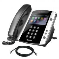 Polycom VVX 601 Business Media Phone in Black - 2200-48600-025